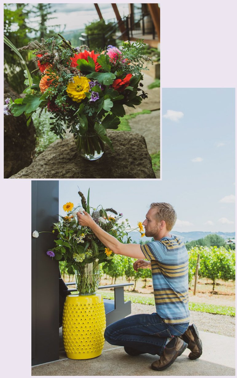 Floral Design by Pollinate Flowers