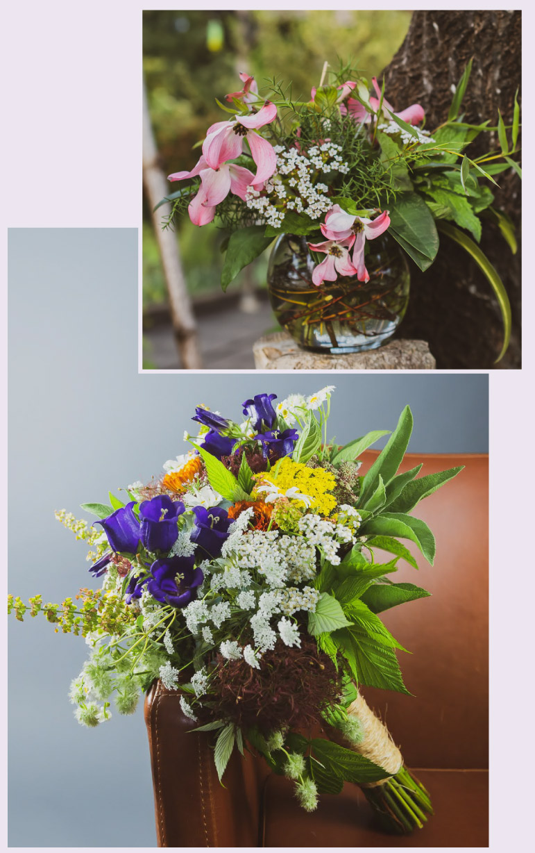 Wedding Flowers by Pollinate Flowers